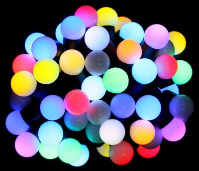 Гирлянда Шарики RGB